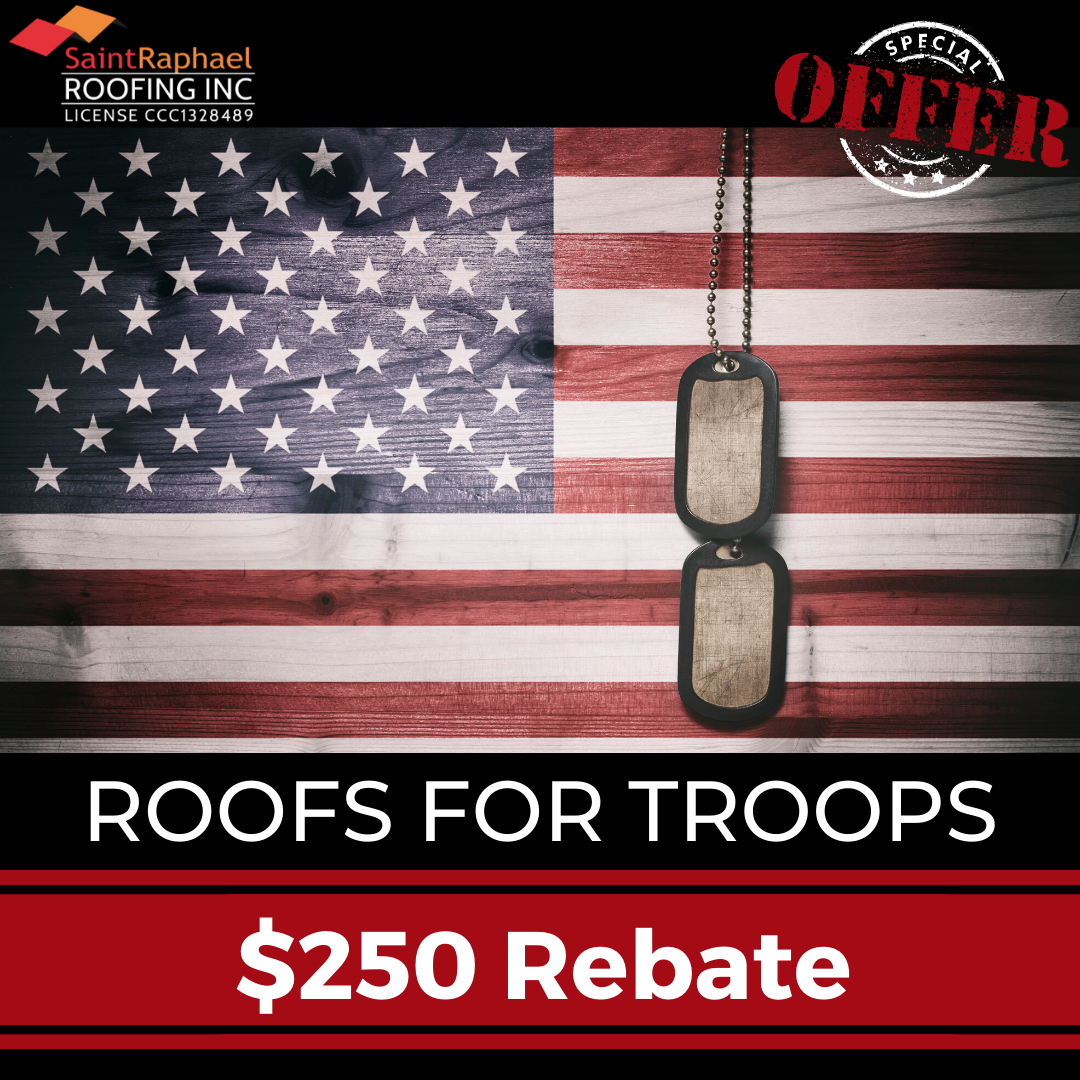 Roofs for Troops Florida GAF